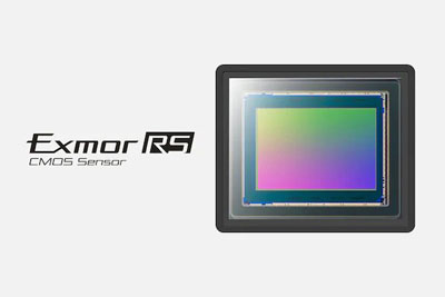 Capteur CMOS Exmor RS empilé plein format de 50,1 mégapixels