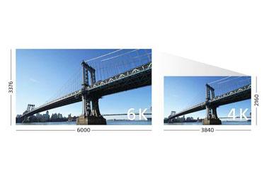 Enregistrement 4K : des images incroyables