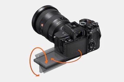 Écran LCD à angle variable pour un tournage facilité