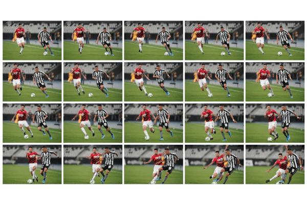 Prise de vue continue ultra-rapide jusqu'à 20 images/s