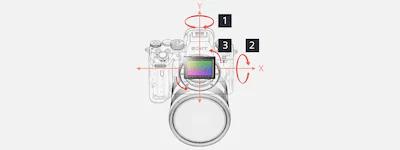 Stabilisation d'image optique intégrée sur 5 axes