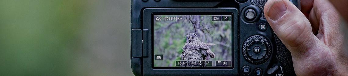L'appareil photo d'un photographe