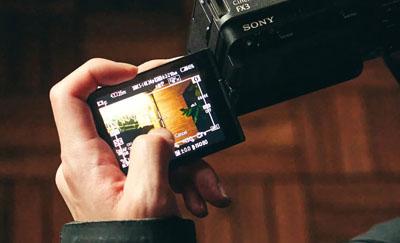 Écran tactile LCD à angle variable